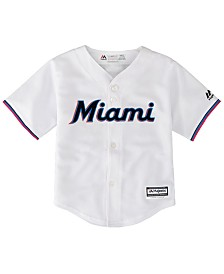 719038f92ed Majestic Toddlers Miami Marlins Blank Replica Cool Base Jersey