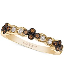 Le Vian® Chocolatier® Diamond Band (1/5 ct. t.w.) in 14k Gold