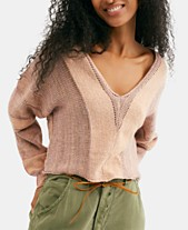 807717cca13 Free People Lemonade Stand Cropped Mixed-Knit Sweater