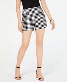 I.N.C. Gingham Shorts, Created for Macy's