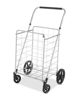 Utility Cart With Adjustable Height Handle