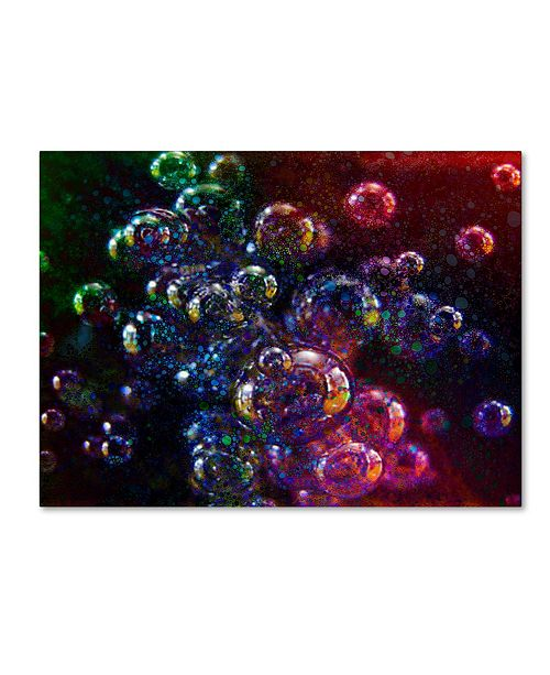 """Trademark Global MusicDreamerArt 'Hot Bubbles' Canvas Art - 47"""" x 35"""" x 2"""""""