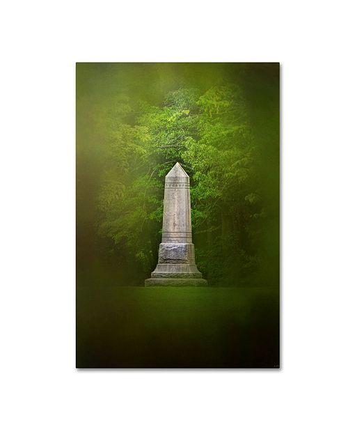 "Trademark Global Jai Johnson 'War Monument In Spring' Canvas Art - 24"" x 16"" x 2"""