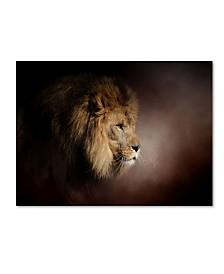"Jai Johnson 'The Mighty Lion' Canvas Art - 47"" x 35"" x 2"""