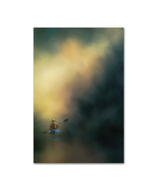 "Trademark Global Jai Johnson 'The Lone Canoe' Canvas Art - 47"" x 30"" x 2"""