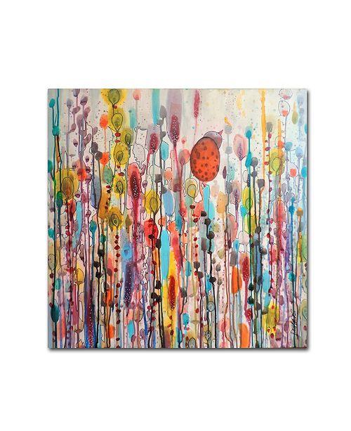 "Trademark Global Sylvie Demers 'Je suis La?' Canvas Art - 35"" x 35"" x 2"""