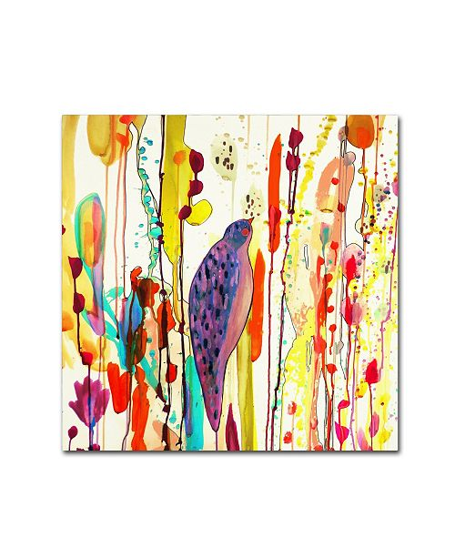 "Trademark Global Sylvie Demers 'Vers Le Ciel (Square)' Canvas Art - 35"" x 35"" x 2"""