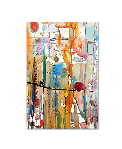 """Trademark Global Sylvie Demers 'Looking For You' Canvas Art - 19"""" x 12"""" x 2"""""""