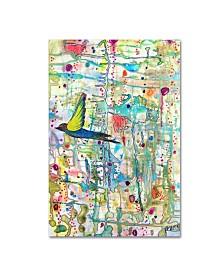 "Sylvie Demers 'Faire Surface' Canvas Art - 47"" x 30"" x 2"""
