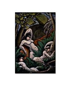 """Max Weber 'Summer' Canvas Art - 19"""" x 12"""" x 2"""""""