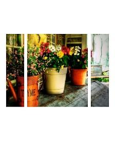 "Lois Bryan 'The Porch Swing' Multi Panel Art Set Small - 24"" x 32"" x 2"""