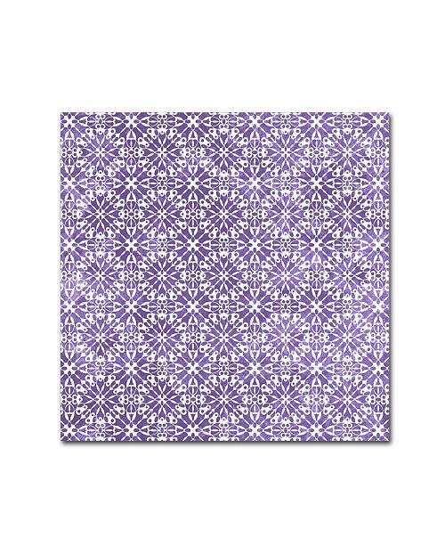 "Trademark Global Jean Plout 'Garden Magic 2' Canvas Art - 18"" x 18"" x 2"""