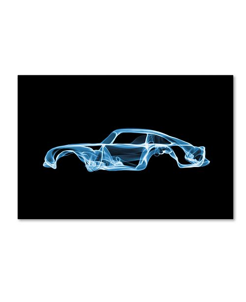 "Trademark Innovations Octavian Mielu 'Aston Martin DB5' Canvas Art - 19"" x 12"" x 2"""