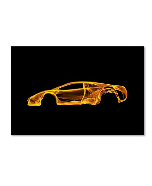 "Trademark Innovations Octavian Mielu 'Lamborghini Murcielago' Canvas Art - 47"" x 30"" x 2"""