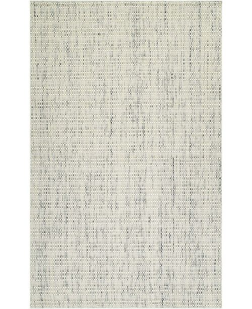 "D Style Cozy Weave Cwv100 Ivory 3'6"" x 5'6"" Area Rug"