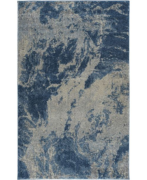 "D Style Tempo Tem10 Baltic 7'10"" x 10'7"" Area Rug"