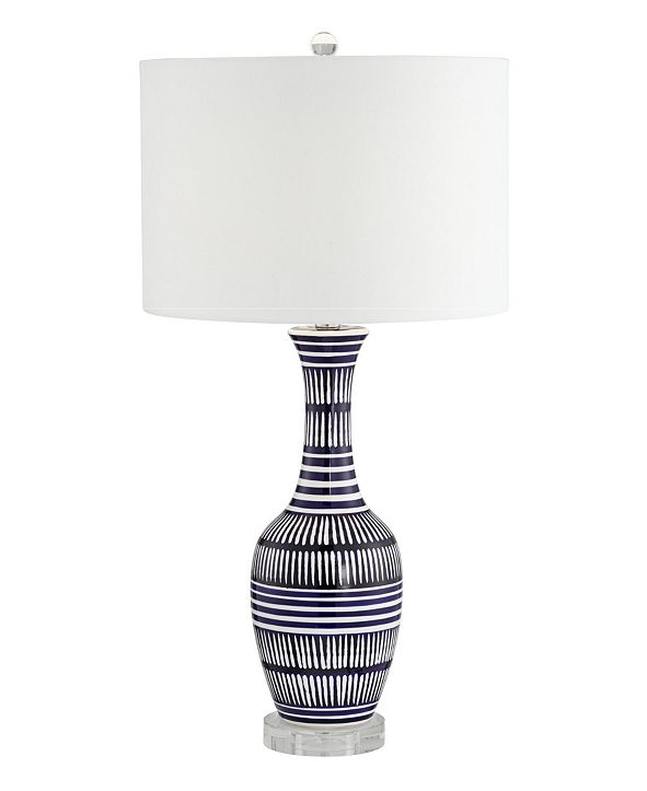 Pacific Coast Ceramic Lamp with Crystal Base Table Lamp