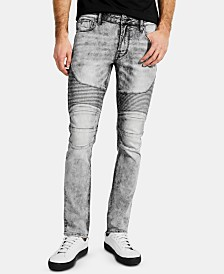 GUESS Men's Moto Skinny Jeans