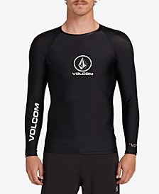 Men's Lido Solid Long Sleeve Rashguard