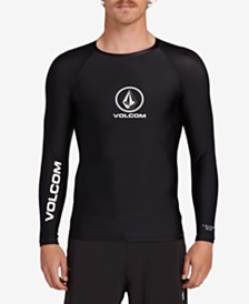 Volcom Men's Lido Solid Long Sleeve Rashguard