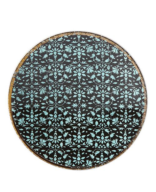 Lenox Global Tapestry Aquamarine  Dessert Plate
