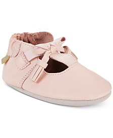 Robeez Baby Girls Meghan Pink Soft Sole Shoes