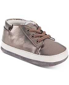 Robeez Baby Girls Mini Quinn Copper Shoes