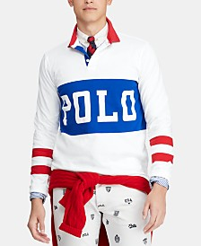 Polo Ralph Lauren Men's Classic Fit Chariots Rugby Shirt