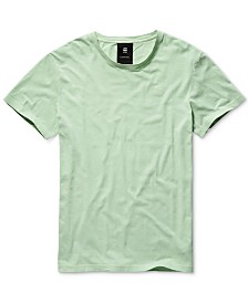 G-Star RAW Men's Solid T-Shirt, Created for Macy's
