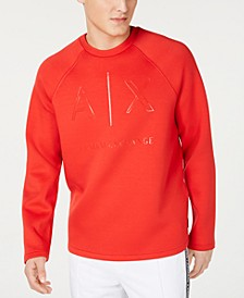 Armani Exchange Men's Logo Graphic Sweatshirt
