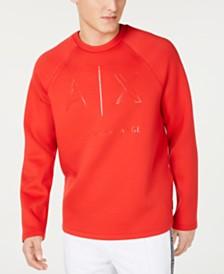Armani Exchange Men's Logo Graphic Sweatshirt