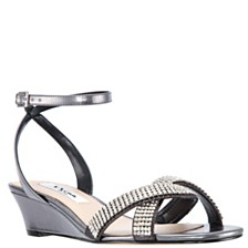 ae4d9d4f6da4 Nina Florina Wedge Sandals