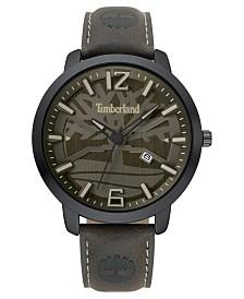 Timberland Men's Clarksville Dark Brown/Black/Gray Watch