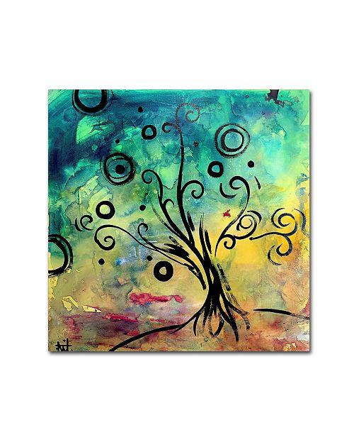"Trademark Global Natasha Wescoat 'Cyber Spring' Canvas Art - 24"" x 24"" x 2"""