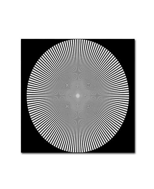 "Trademark Global Vintage Apple Collection 'Optical Illusion Art' Canvas Art - 35"" x 35"" x 2"""