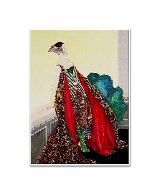 "Trademark Global Vintage Lavoie 'Women 4' Canvas Art - 32"" x 24"" x 2"""