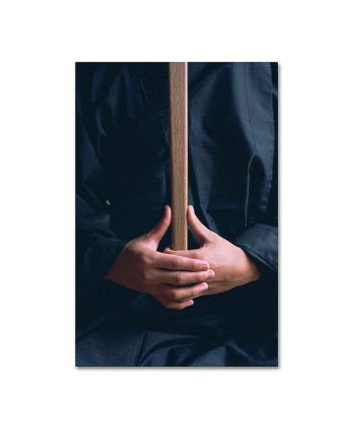 """Trademark Global Robert Harding Picture Library 'Character With Stick' Canvas Art - 47"""" x 30"""" x 2"""""""