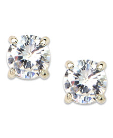 Anne Klein Crystal Stud Earrings