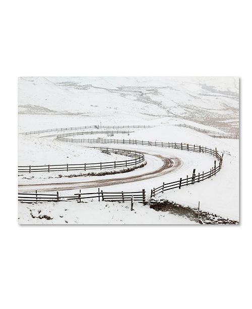 "Trademark Global Robert Harding Picture Library 'Snow Covered Landscape 2' Canvas Art - 47"" x 30"" x 2"""