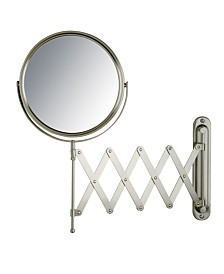 "The Jerdon JP2027N 8"" Diameter Wall Mount Mirror"