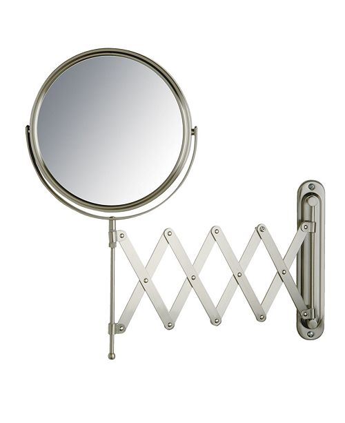 "Jerdon The JP2027N 8"" Diameter Wall Mount Mirror"