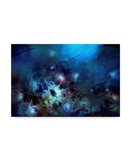 "Trademark Global RUNA 'Underwater2' Canvas Art - 24"" x 16"" x 2"""