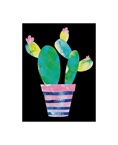"Trademark Global Summer Tali Hilty 'Cactus' Canvas Art - 47"" x 35"" x 2"""