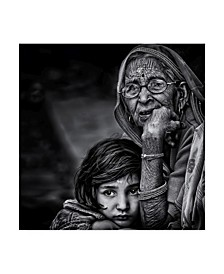 "Piet Flour 'Grandmother' Canvas Art - 24"" x 2"" x 24"""