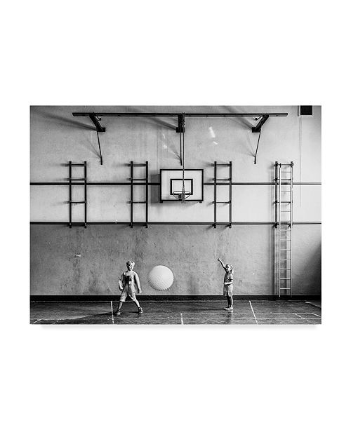 "Trademark Global Susanne Stoop 'Gymnasium' Canvas Art - 32"" x 2"" x 24"""