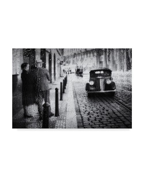 "Trademark Global Roswitha Schleicher Schwarz 'Step Back In Time' Canvas Art - 24"" x 2"" x 16"""