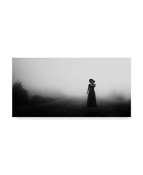 """Trademark Global Mikhail Potapov 'White Fog' Canvas Art - 19"""" x 10"""" x 2"""""""