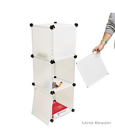 Mind Reader Multi-Purpose Tall Magic Cube with Covers