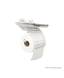 Toilet Paper Holder with Phone Bed Tray