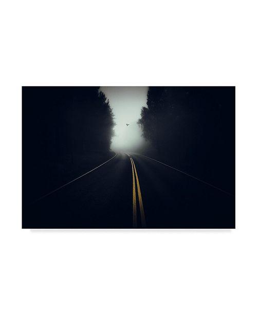"""Trademark Global Mika Suutari 'High Way' Canvas Art - 32"""" x 2"""" x 22"""""""